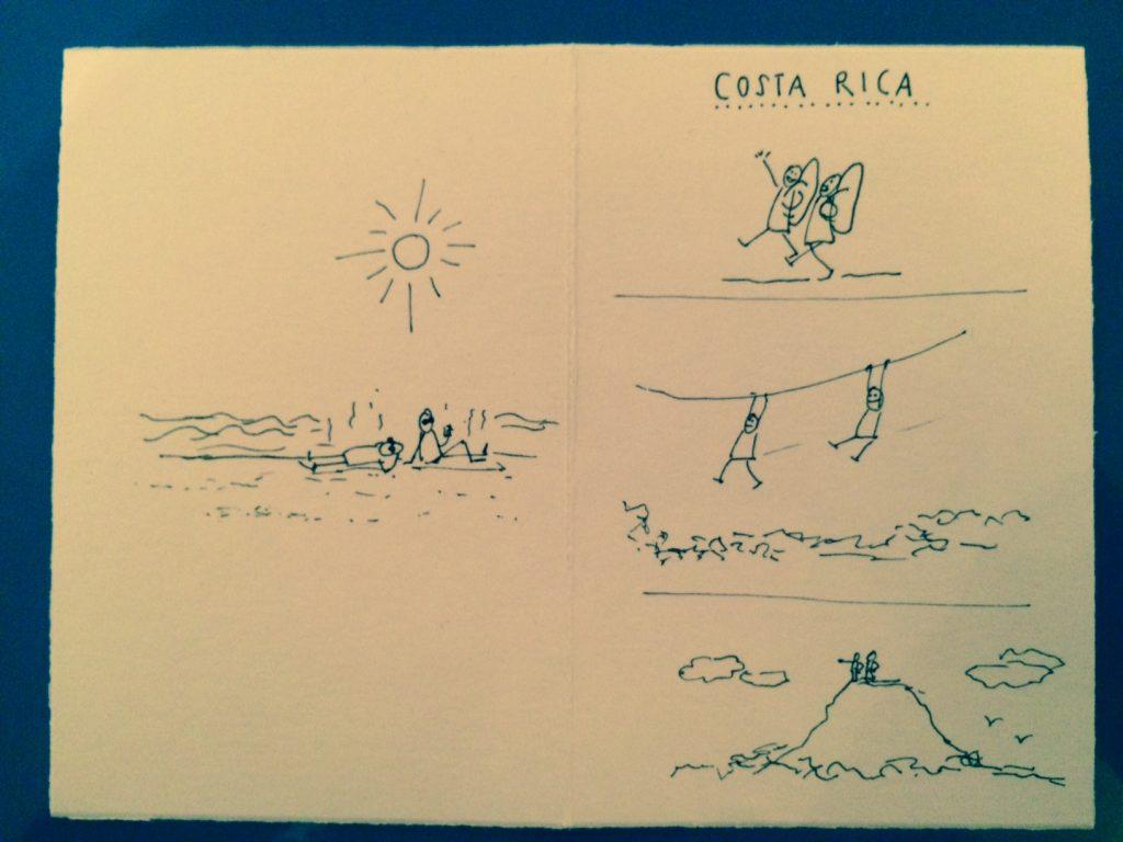 Costa Rica Illustration