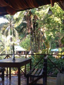 Breakfast Area, Hostel Plinio, Parque Nacional Manuel Antonio, Costa Rica