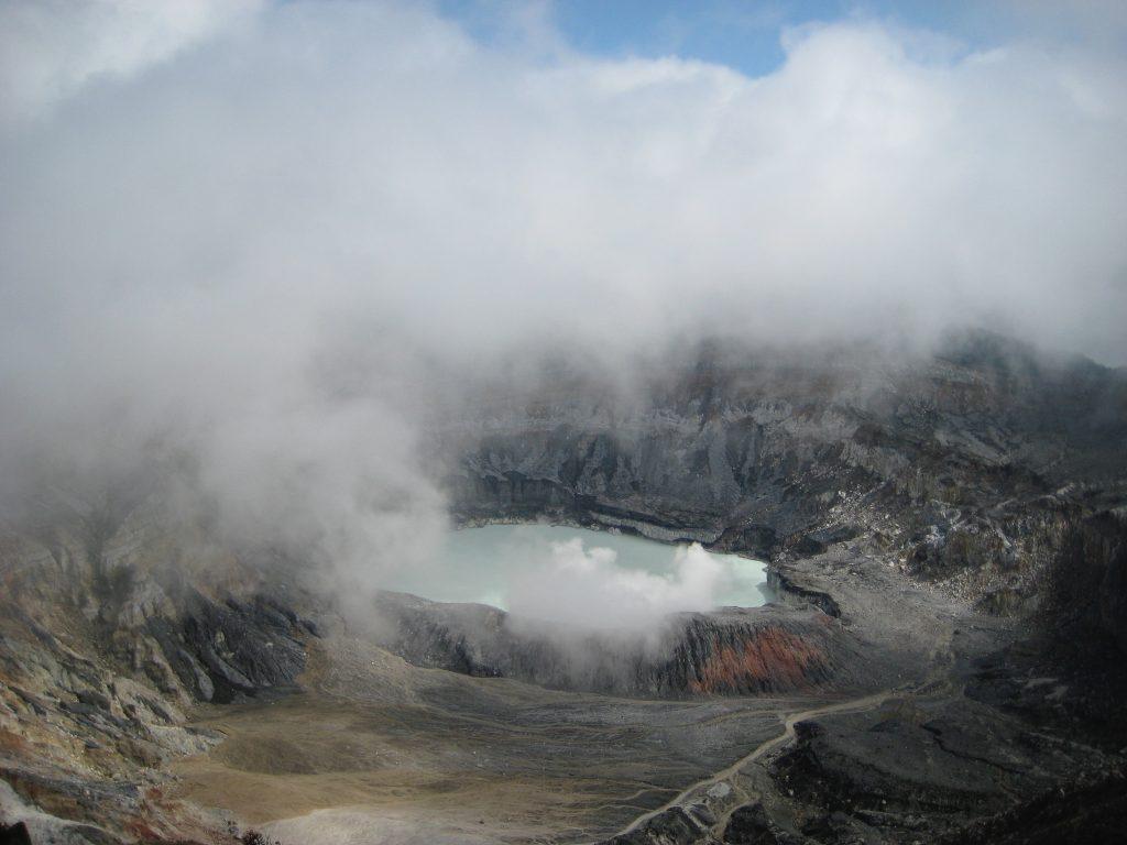 Volcán Póas Costa Rica